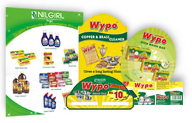 Flyer Danglers & Lable Design for Wypo